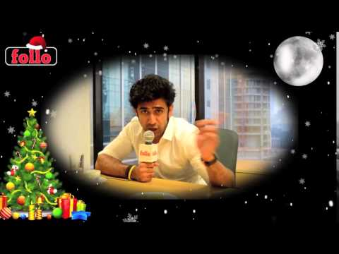 Amit Sadh Wishes Cristmas & New Year On follo