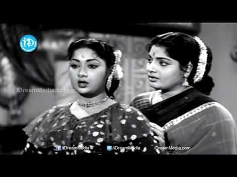 Vimala Movie - Savitri, Sandhya Rani Nice Scene