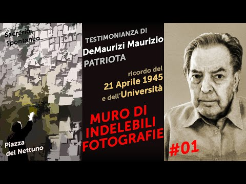 Testimonianza di Maurizio De Maurizi