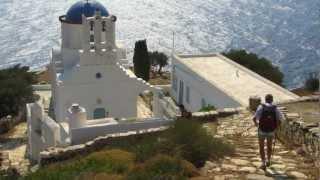 La randonnée en Grèce, c'est le pied!