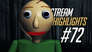 Stream Highlights #72 - FIRST BALDI WIN EVER #POGGERS