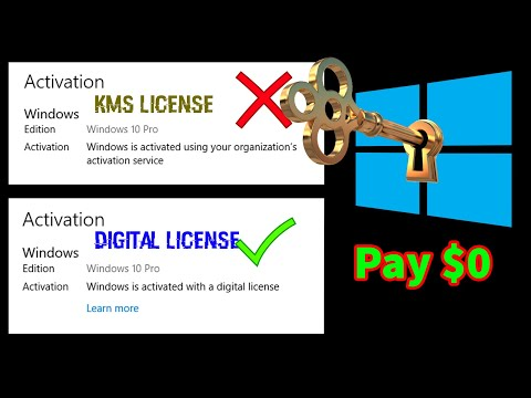 Get Windows 10 Digital License || Step-By-Step | For Lifetime || CMD | For FREE || Hacking Info