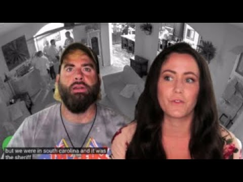 FOOTAGE of COPS in Jenelle Evans' Home!