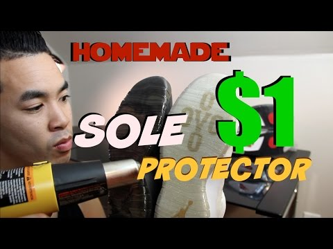 HOMEMADE Sole Protector For Cheap - Installation