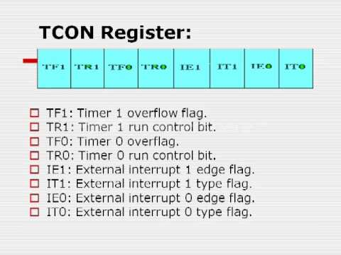 8051 Timers - 8051 Microcontroller tutorial
