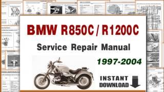 10. 1997-2004 BMW R850C R1200C Service Repair Manual