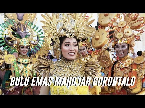 BULU EMAS MANDJAH GORONTALO! #GorontaloKarnavalKarawo видео