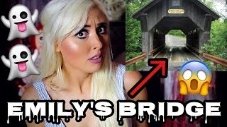 """Emily's bridge is haunted by a ghost named Emily.  Many people who have visited this bridge have experienced very disturbing paranormal activity such as scratch marks appearing on vehicles that were parked on the bridge and even being touched or scratched by Emily's ghost.#TeamBrittyy44#BRITHERINSSUBSCRIBE! New videos every Monday, Wednesday and Friday!FOLLOW ME!http://facebook.com/Brittyy44http://twitter.com/Brittyy44http://instagram.com/Brittyy44Music: Kevin Macleodhttp://incompetech.com""""Darkest Child""""""""Ghost Story"""""""