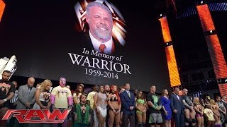 Nonton A Tribute To The Memory Of The Ultimate Warrior  Raw  April 14  2014 Film Subtitle Indonesia Streaming Movie Download