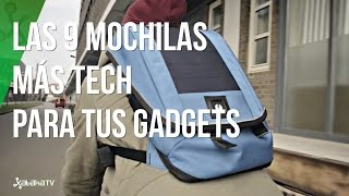Las 9 mochilas más tech para llevar tus gadgets