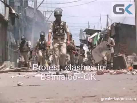Clashes in Batmaloo