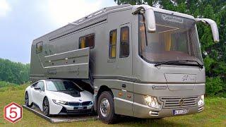 Download Video 6 Mobil Rumah Paling Mewah Dengan Fasilitas Hotel Bintang 5, Ada Garasinya Di Dalam Mobil! MP3 3GP MP4