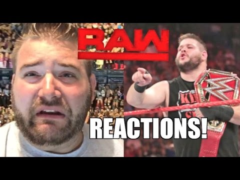 Wwe Raw Reactions: Owens Vs Reigns Main Event! Full Show Results And Review 9/12/16