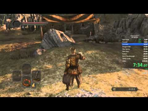 Dark Souls 2 All Bosses Speedrun With DLC - 2:30:29 RTA World Record