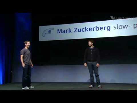 samberg - http://www.youtube.com/altrocity http://www.facebook.com/Altrocity Andy impersonates Mark before his keynote speech at F8 this year. Subscribe down below and...