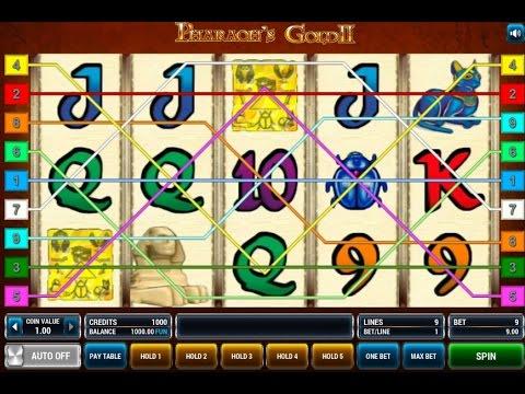 Секрет игрового автомата Золото Фараона (Pharaohs Gold)