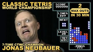 Jonas OBLITERATES Tetris Qualifiers - 2 Max in 30 Min!