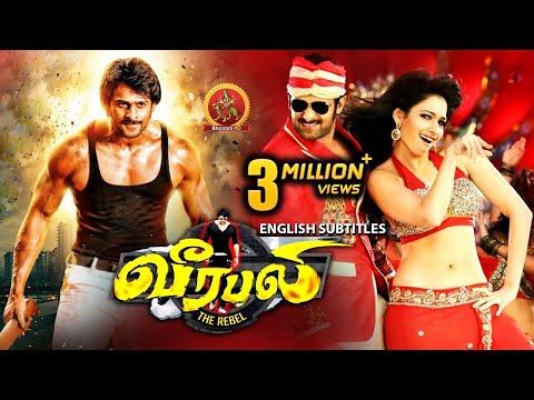 Prabhas Latest Action Movie Tamil   New Tamil Movies   Prabhas   Tamannaah   Veerabali (Rebel)
