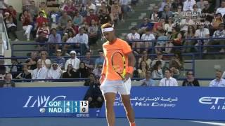 Here are the highlights of the final between David Goffin and Rafael Nadal ! Vintage Nadal.