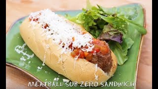 Mini Burger & Meatball Sub Zero Sandwich