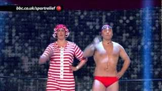 Nonton Dancing Queens  David Walliams And Miranda Hart   Bbc Sport Relief Night 2012 Film Subtitle Indonesia Streaming Movie Download