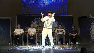 Poppin Mett vs J.One – 2019 JINJU SDF POPPING SIDE TOP8