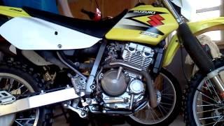 10. 2004 drz 250 start up