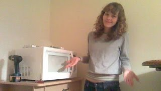 To Build a Microwave Cart - Time Lapse