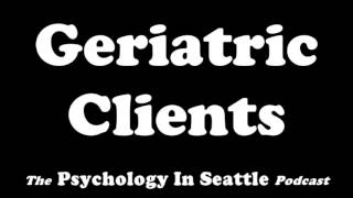 Dr. Kirk Honda talks with Mitzi Weiland about working with older adult clients. The Psychology In Seattle Podcast. July 3, 2017.Email: Contact@PsychologyInSeattle.comBecome a patron of our podcast by going to https://www.patreon.com/PsychologyInSeattle