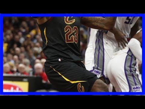 Cleveland cavaliers update: lebron james' shoes, jakarr sampson, dwyane wade