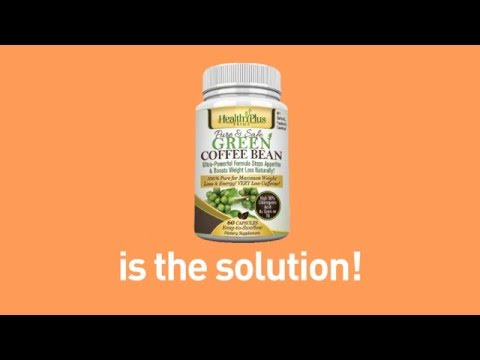 100% Pure & Natural Green Coffee Bean Extract