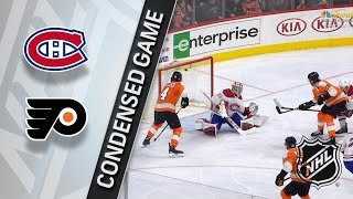 02/20/18 Condensed Game: Canadiens at Flyers by NHL