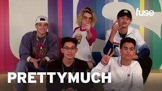 Video PRETTYMUCH Plays Phone Swap | Fuse First MP3, 3GP, MP4, WEBM, AVI, FLV Juni 2018