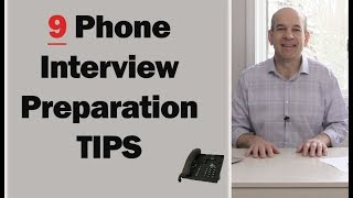Video 9 Phone Interview Tips to ACING Your Interview MP3, 3GP, MP4, WEBM, AVI, FLV Juli 2019