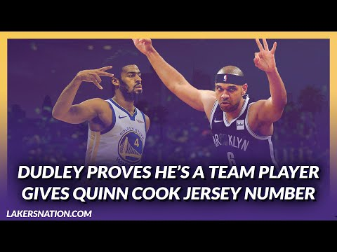 Video: Lakers Offseason: Jared Dudley Gives Number to Quinn Cook To Help Honor Cook's Dad