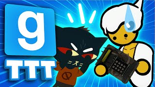 OUR WEAPONS KEEP SWAPPING!? | Gmod TTT