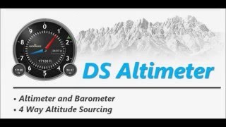 DS Altimeter & Altitude Widget YouTube video