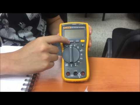 Como usar un Multimetro Fluke 117