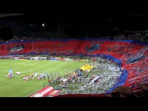 MEDELLIN 3 vs Cali 2 Liga Putobon 2014/Nov/15 Cuad.finales Fecha # 1   #101AñosPoderosos - Rexixtenxia Norte - Independiente Medellín