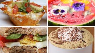 6 Vegetarian Breakfasts by Tasty