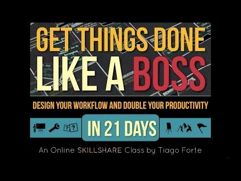 Get Stuff Done Like a Boss: What's a Workflow? (Lesson 1)