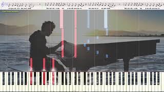 Звуки пианино - Мот (Ноты и Видеоурок для фортепиано) (piano cover)