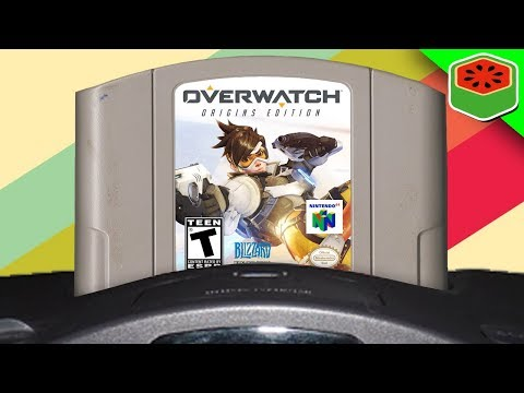 IF OVERWATCH WAS ON THE NINTENDO 64! | Overwatch