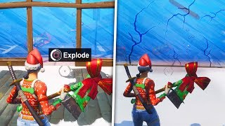 how to get into these SECRET Locations in SEASON 7!! (Fortnite)