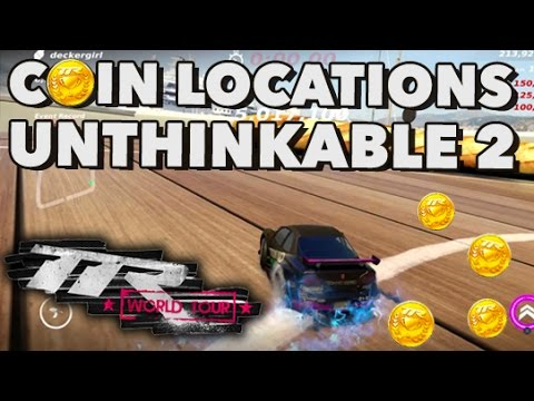 All SuperCoin locations on UNTHINKABLE 2  in TableTop Racing World Tour!