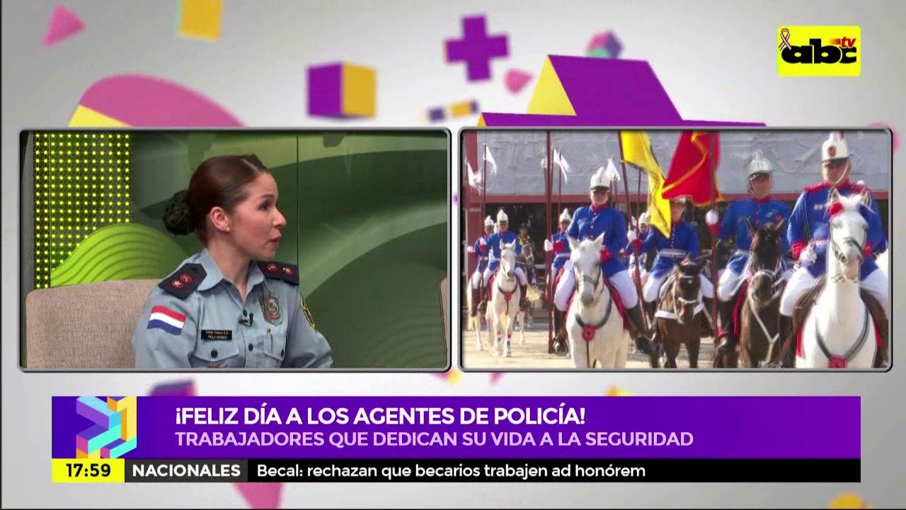 Celebramos el Día del Agente de Policía en ''Periodismo Joven''