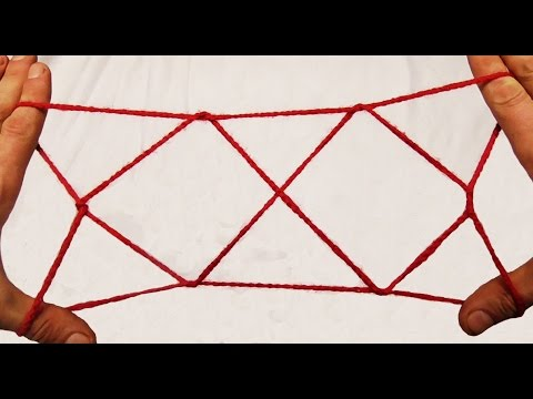 Two Diamond Jacob's Ladder String Figure/String Trick- Step By Step