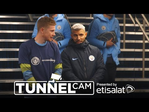 Video: KDB IS BACK! | TUNNEL CAM | v Everton