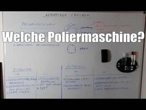 83metoo Welche Poliermaschine für Anfänger - Autopflege Lexikon Buchstabe P wie Poliermaschine