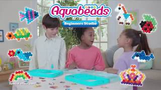New Aquabeads Beginner Studio with New flip tray